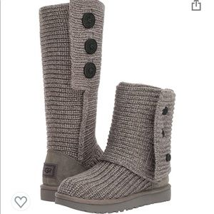 UGG Classic Cardy in Grey size 8